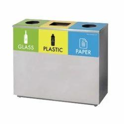 Trio Square Recycle Bin