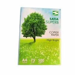 A4 Copier Paper SATIA, Packaging Size: 500 Sheets Per Pack, Packaging Type: Packet