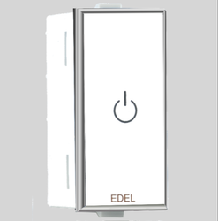 2 Module EDEl Modular Touch Switches, 220 V