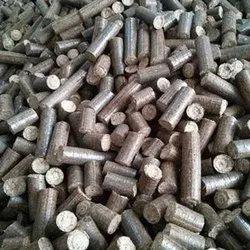 75 mm Bio Coal Briquette, For Burning, Round