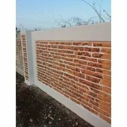 RCC Modular Readymade Compound Wall, Thickness: 5 Inch