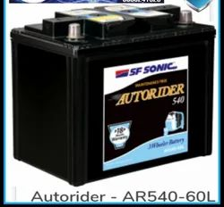 AR540-60L Sf Sonic 3 WHEELER  Batteries