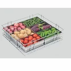 Vegetable Basket, Size/Dimension: 15 X 20 X 6 Inch