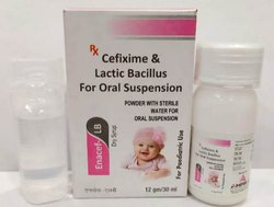 Cefixime and Lactic Bacillus for Oral Suspension