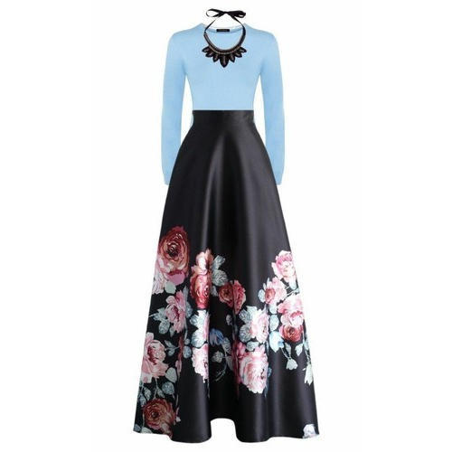 34ac43bf56 Cotton Floral Print Long Skirt, Size: S, M & L, Rs 600 /piece | ID ...