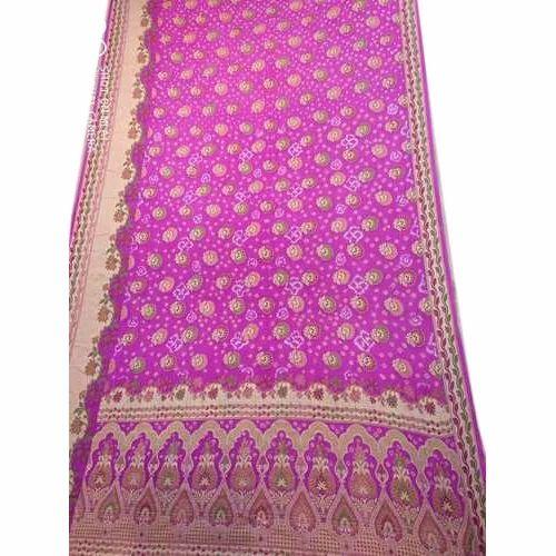37df2979b88fd Designer Banarasi Bandhani Saree