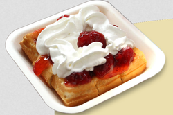 Classic Butter Square Waffles
