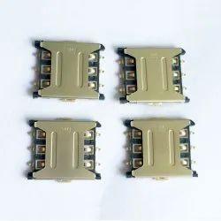 6 Pin Nano Push Pull Sim Card Connector