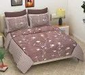 Floral Design Cotton Double Bed Sheet