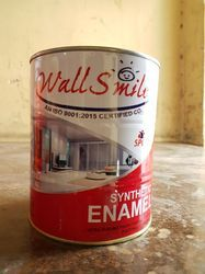 High Gloss Wood Wall Smile Synthetic Enamel, Packaging Type: Tin Container