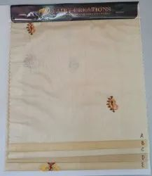 A2403 - Pure Tussar 35g Paper Silk Embroidery Fabric