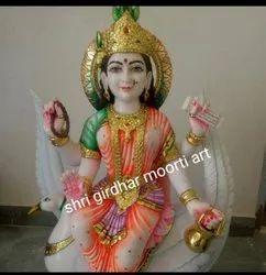 Maa Brahmani Marble Statue