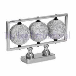 Decorative Aluminium Globe Tabletop