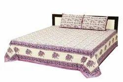 Designer Print Double Bed Sheets