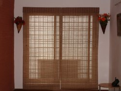 Residential Bamboo Chick Roller Blinds