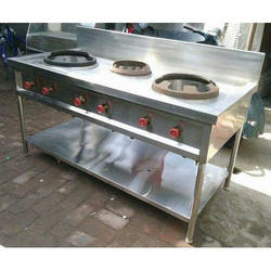 Chinese Three Burner Range