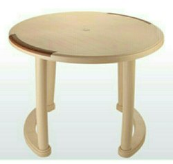 Plastic Round Dining Table