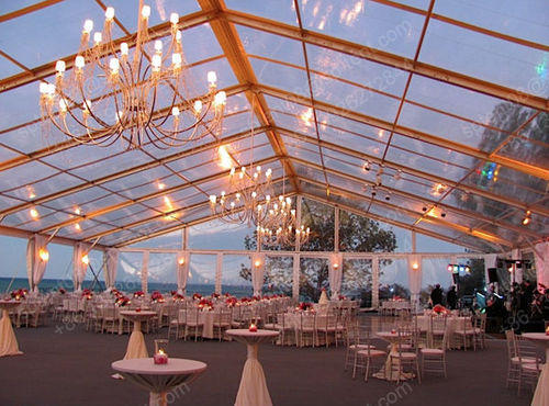 PVC Plain Fancy Wedding Tent Capacity Greater than 10 & PVC Plain Fancy Wedding Tent Capacity: Greater Than 10 | ID ...