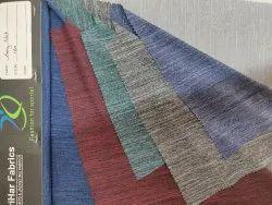 Long Slub Polyester Fabric