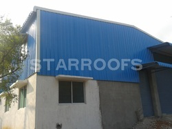 Storage Godown Roofing Shed