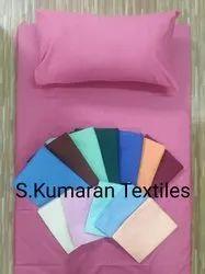 Hospital Reusable Plain Bed Sheet