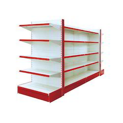 Powder Coated Supermarket Rack