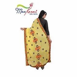 Party Wear Embroidered Dupatta