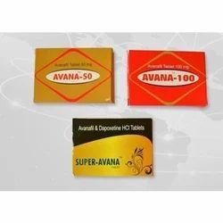 Avana Tablet, Packaging Type: Strap, for Hospital
