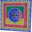 Cotton Printed Mens Fancy Handkerchief, Size: 20x20cm