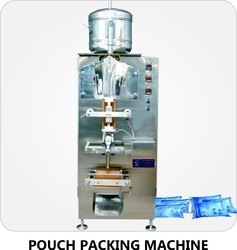 Sachet Water Packing Machine