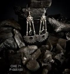 Oxidized Earrings OXE 71