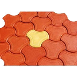 For Indoor And Outdoor Paver Block Flooring Service, Thickness: 50 - 100 mm