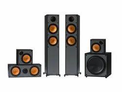 5.1 Black Monitor Reference Home Audio Speaker