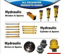 Hydraulic Spares, Hydralic Cylinder & Spares