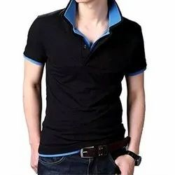 Mens Half Sleeve Polo T Shirt