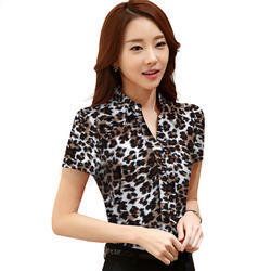 Ladies Printed Shirts for Jeans, Size: XL