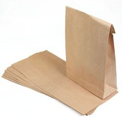 Brown Plain Paper Pouch
