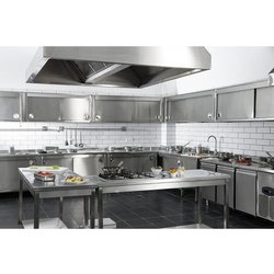 Stainless Steel Commercial Hotel Kitchen Equipment