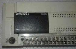 Mitsubishi FX3U-128MR/ES, PLC (64 Relay Output) 100-240V AC