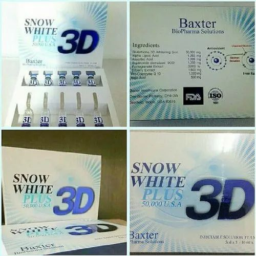 Snow White Plus 3d Glutathione Inject