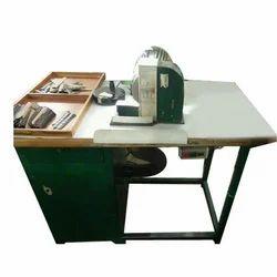 Semi-automatic Leather Buffing Machine