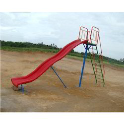 Playground Wave Slide