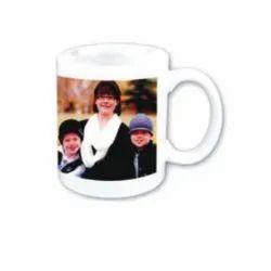 Super White Ceramic Mug