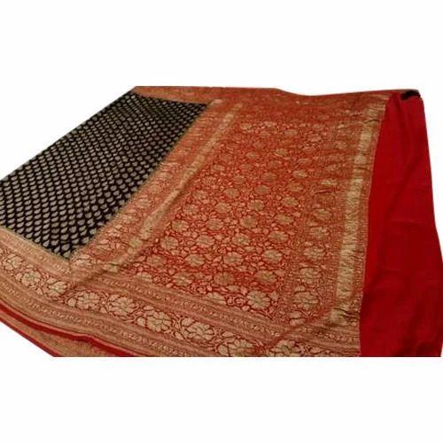 76c0531e73 ... Pure Banarasi Katan Silk Saree. Handloom khaddi georgett banarasi