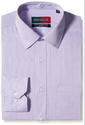 Peter England Men's Purple Formal Shirt - 39