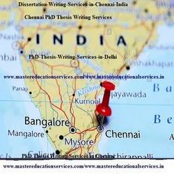 Chennai  MSc Dissertation Writing Services