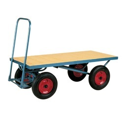 Four Wheel Material Handling Trolley