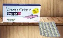 Olanzapine 2.5 mg,5 mg & 10 mg