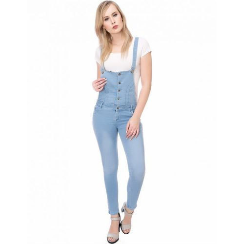 a93ea2d69e2 Denim Full Length Womens Plain Blue Dangri