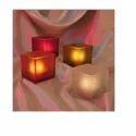 Glass Candle Holder, Shape: Jar Shaped